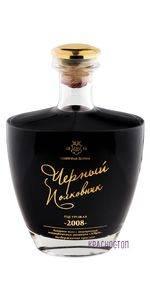 Чёрный Полковник Солнечная Долина красное десертное вино 2008 год, 0,75 л подарочная упаковка