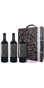 Фантом Винодельня Ведерников красное сухое вино 2012 год, подарочная упаковка