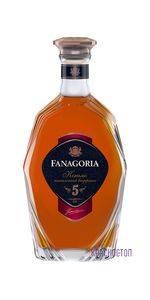 Фанагория 5 лет коньяк ординарный 0,5 л, 40 %