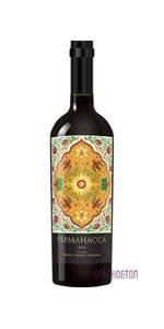 Германасса Тамани красное сухое вино, 0,75 л