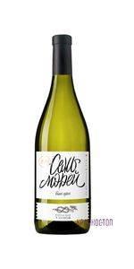 Семь Морей Винодельня Узунов белое сухое вино 0,75 л