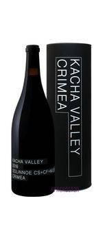 Долинное Kacha Valley красное сухое вино 1,5 л в тубусе