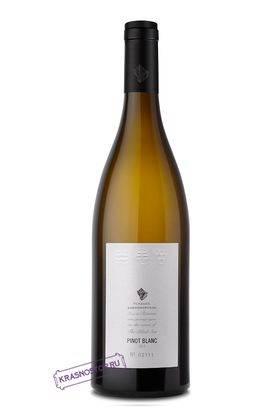 Пино блан Усадьба Дивноморское белое сухое вино 2015 год, 0,75 л