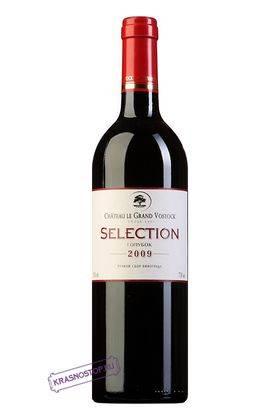 Голубок Отборное Шато Ле Гран Восток красное сухое вино, 0,75 л