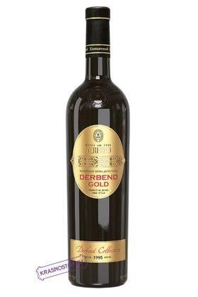 Дербентское Золотистое Derbend  белое креплёное вино 1995 год, 0,75 л