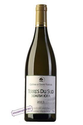 Земли Юга Шато Ле Гран Восток белое сухое вино, 0,75 л