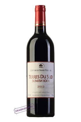 Земли Юга Шато Ле Гран Восток красное сухое вино, 0,75 л
