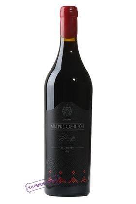 Каберне Совиньон Премиум Сикоры красное сухое вино 0,75 л