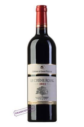 Королевский Дуб Шато Ле Гран Восток красное сухое вино 2009 год, 0,75 л