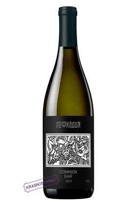 Совиньон блан Лефкадия белое сухое вино, 0,75 л
