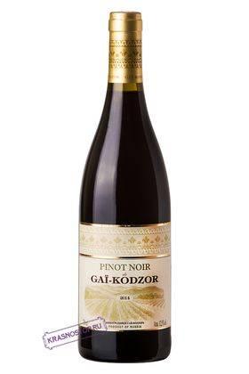 Пино нуар Де Гай Кодзор красное сухое вино 2016 год, 0,75 л