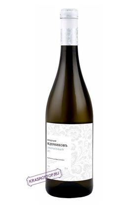 Сибирьковый выдержанное в дубовых бочках Винодельня Ведерников белое сухое вино 2011 год, 0,75 л