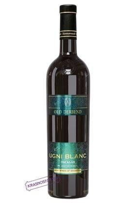 Уни Блан Derbend белое сухое вино, 0,75 л