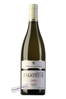 Фаготин Шато Ле Гран Восток белое сладкое вино 2012 год, 0,75 л