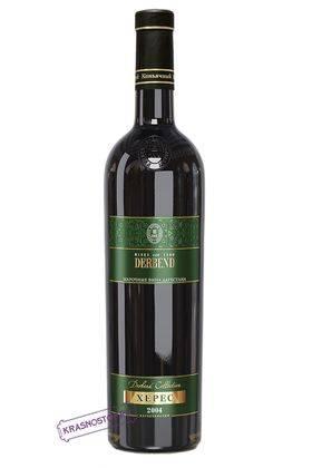 Херес дагестанская Derbend  белое креплёное вино 2004 год, 0,75 л