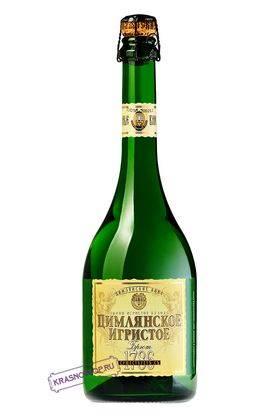 Ретро Цимлянские вина брют белое игристое вино, 0,75 л