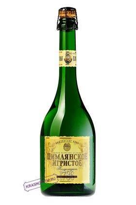 Ретро Цимлянские вина полусладкое белое игристое вино, 0,75 л