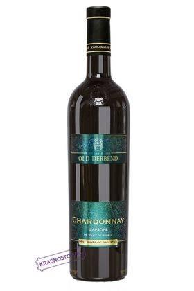 Шардоне Derbend белое сухое вино, 0,75 л