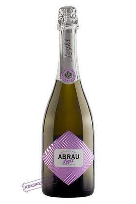 Abrau Light полусладкое белое игристое вино, 0,75 л