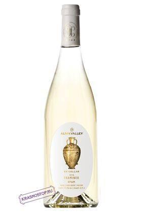 Траминер Ex Cellar Alma Valley белое сухое вино 2016 год, 0,75 л