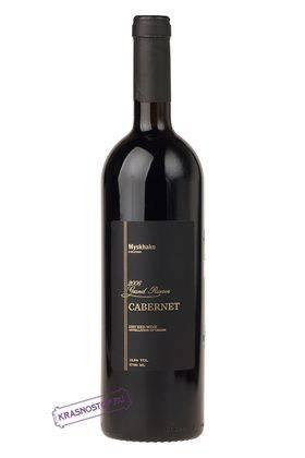 Каберне гран резерв Мысхако красное сухое вино 2006 год, 0,75 л