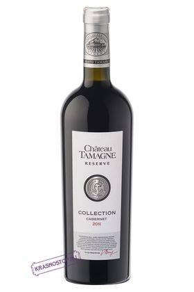 Премьер руж коллекционное Шато Тамань красное сухое вино 2010 год, 0,75 л