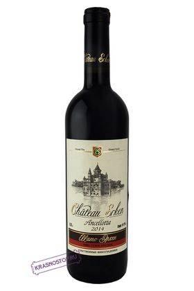 Анчелотта Шато Эркен красное сухое вино, 0,75 л