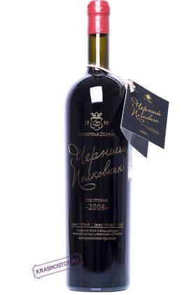 Чёрный Полковник Солнечная Долина красное десертное вино 2008 год, 1,5 л магнум