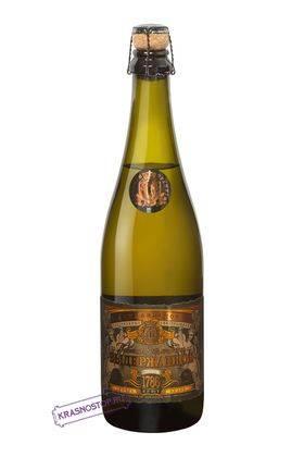 Цимлянское выдержанное полусладкое белое игристое вино, 0,75 л