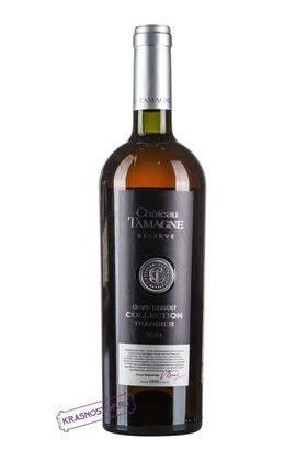 Траминер Гранд Десерт Шато Тамань белое десертное вино 2011 год, 0,75 л