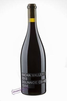 Долинное Kacha Valley красное сухое вино 2015 год, 0,75 л