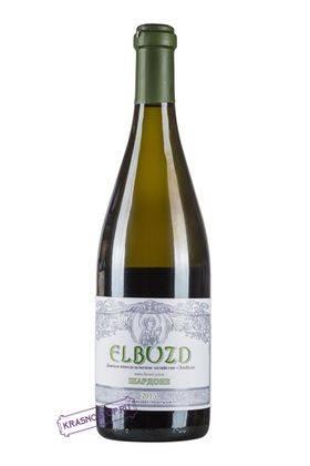 Шардоне Эльбузд белое сухое вино 2015 год, 0,75 л