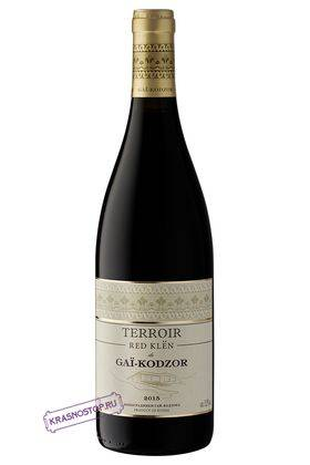 Терруар ред клён де Гай-Кодзор красное сухое вино 2016 год, 0,75 л