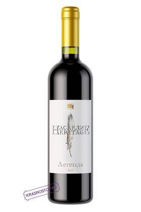 Легенда Наследие красное сухое вино, 0,75 л