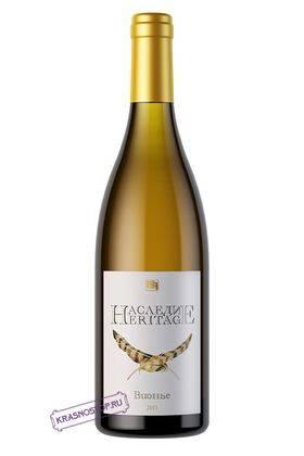 Вионье Наследие белое сухое вино, 0,75 л