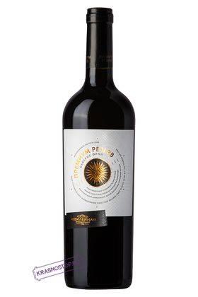 Каберне фран Премиум Резерв Винодельня Юбилейная розовое полусухое вино, 0,75 л