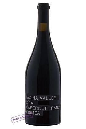 Каберне фран Kacha Valley красное сухое вино 2015 год, 0,75 л