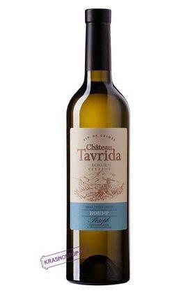 Кокур резерв Chateau Tavrida белое сухое вино, 0,75 л