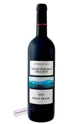 Пино Фран Склон горы Татар Хабурга Коктебель красное сухое вино, 0,75 л
