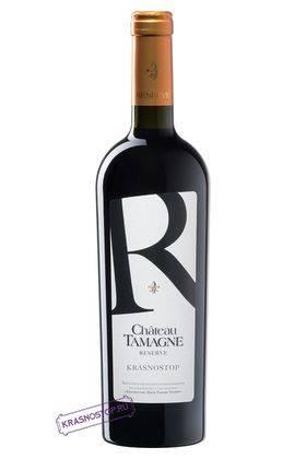 Красностоп Шато Тамань резерв красное сухое вино 2016 год, 0,75 л