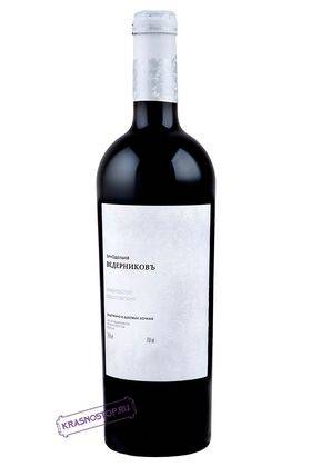 Красностоп Золотовский выдержанное в дубовых бочках Винодельня Ведерников красное сухое вино 2014 год, 0,75 л