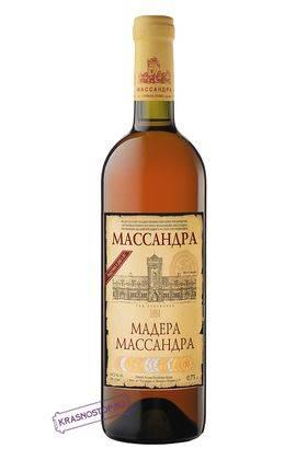 Мадера Массандра белое креплёное вино 2013 год, 0,75 л