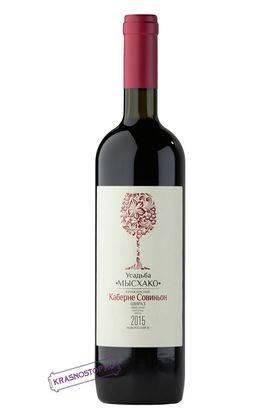 Красный купаж Усадьба Мысхако красное сухое вино, 0,75 л