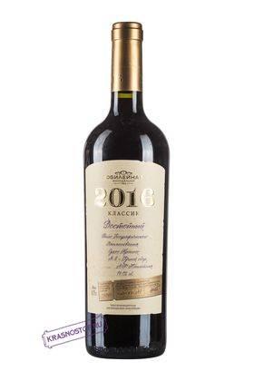 Достойный Классик Винодельня Юбилейная красное сухое вино, 0,75 л
