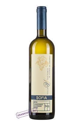 София Вилла Виктория белое сухое вино, 0,75 л