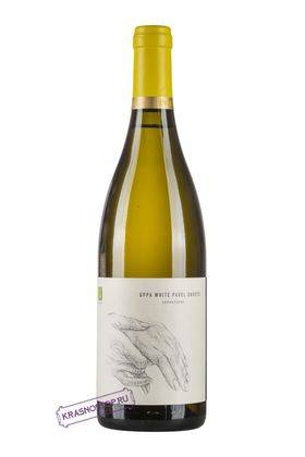 Uppa Winery White Pavel Svets белое сухое вино 2017 год, 0,75 л