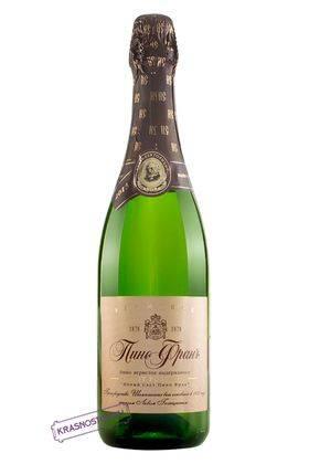 Пино фран Новый Свет выдержанное брют розовое игристое вино 2013 год, 0,75 л