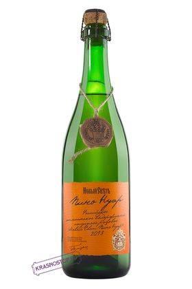 Пино нуар выдержанное Новый Свет полусухое розовое игристое вино 2013 год, 0,75 л