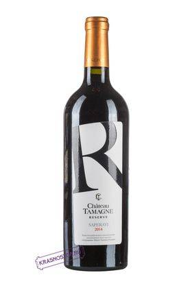 Саперави Шато Тамань резерв красное сухое вино 2016 год, 0,75 л