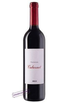 Каберне Раевское красное сухое вино, 0,75 л